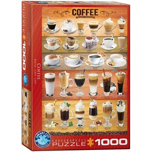 "Eurographics (6000-0589) - ""Coffee"" - 1000 piezas"
