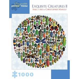 "Pomegranate (AA876) - Christopher Marley: ""Exquisite Creatures II"" - 1000 piezas"