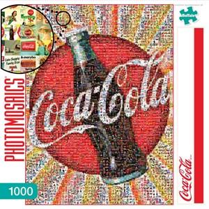"Buffalo Games (11268) - Robert Silvers: ""Coca-Cola"" - 1000 piezas"