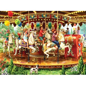 "SunsOut (59798) - Liz Goodrick-Dillon: ""Carousel Ride"" - 1000 piezas"