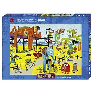 "Heye (29798) - Michael Slack: ""Monster Beach"" - 1000 piezas"