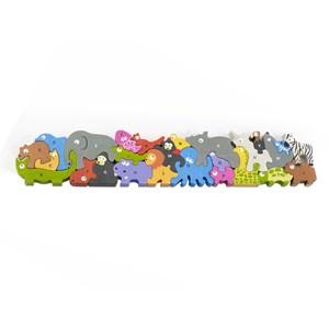 """Begin Again (I1305) - """"Jumbo Animal Parade A-Z Puzzle"""" - 26 piezas"""