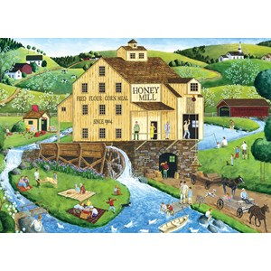 "MasterPieces (71731) - Art Poulin: ""Honey Mill"" - 1000 piezas"