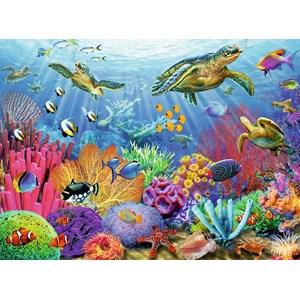 "Ravensburger (14661) - Adrian Chesterman: ""Tropical Waters"" - 500 piezas"