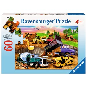 "Ravensburger (09525) - Michael Searle: ""Construction Crowd"" - 60 piezas"