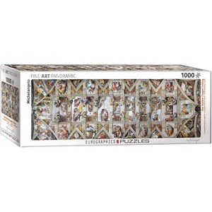 "Eurographics (6010-0960) - Michelangelo: ""The Sistine Chapel Ceiling"" - 1000 piezas"