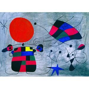 "Eurographics (6000-0856) - Joan Miro: ""The Smile of the Flamboyant Wings"" - 1000 piezas"