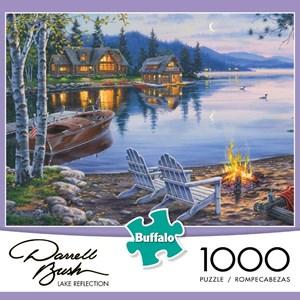 "Buffalo Games (11239) - Darrell Bush: ""Lake Reflection"" - 1000 piezas"