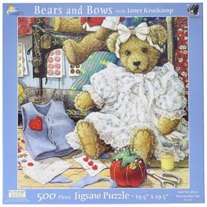 "SunsOut (76120) - Janet Kruskamp: ""Bears and Bows"" - 500 piezas"