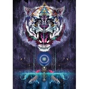 "Schmidt Spiele (59323) - Chris Saunders: ""Snarling Tiger"" - 1000 piezas"