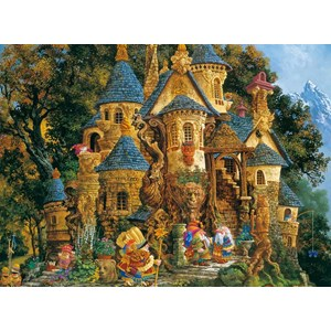 "Ravensburger (14112) - James Christensen: ""College of Magical Knowledge"" - 500 piezas"