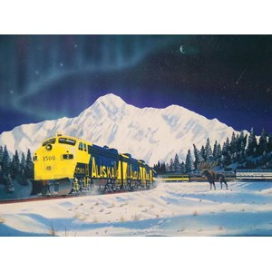 "SunsOut (21343) - Robert West: ""Alaskan Memories"" - 1000 piezas"