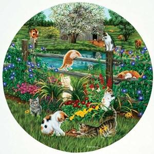 "SunsOut (45876) - Higgins Bond: ""Cats at Play"" - 500 piezas"