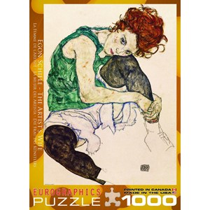 "Eurographics (6000-4539) - Egon Schiele: ""The Artist's Wife"" - 1000 piezas"