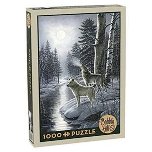 "Cobble Hill (51811) - James Meger: ""Wolves by Moonlight"" - 1000 piezas"