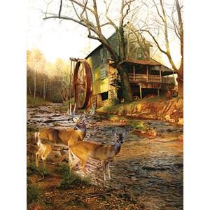 """SunsOut (17612) - Jay Kemp: """"Mill Creek Cross"""" - 1000 piezas"""