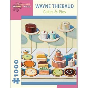 """Pomegranate (AA834) - Wayne Thiebaud: """"Cakes & Pies"""" - 1000 piezas"""