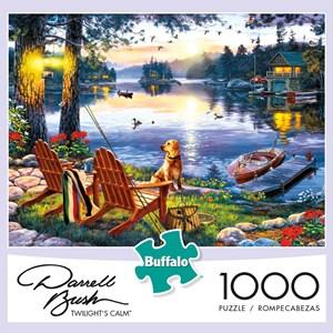 "Buffalo Games (11245) - Darrell Bush: ""Twillight's Calm"" - 1000 piezas"