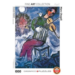 "Eurographics (6000-0852) - Marc Chagall: ""The Blue Violinist"" - 1000 piezas"