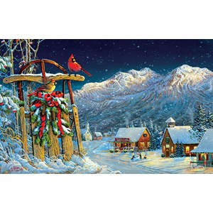 "SunsOut (29071) - Sam Timm: ""Cardinals Holiday"" - 550 piezas"