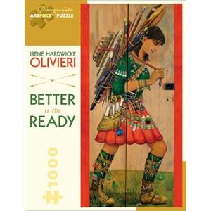 """Pomegranate (AA822) - Irene Hardwicke Olivieri: """"Better is The Ready"""" - 1000 piezas"""