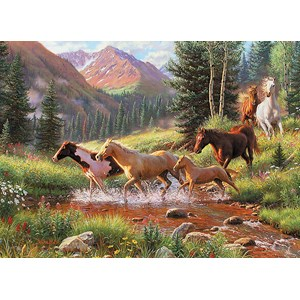 "Cobble Hill (51844) - Mark Keathley: ""Mountain Thunder"" - 1000 piezas"