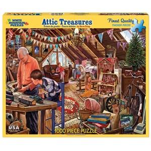 "White Mountain (1123PZ) - Steve Crisp: ""Attic Treasures"" - 1000 piezas"