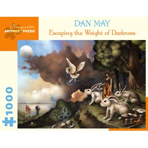 "Pomegranate (AA991) - Dan May: ""Escaping The Weight of Darkness"" - 1000 piezas"