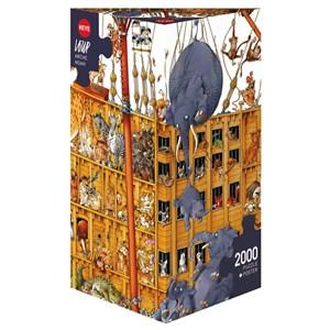"Heye (25475) - Jean-Jacques Loup: ""Noah's Ark"" - 2000 piezas"