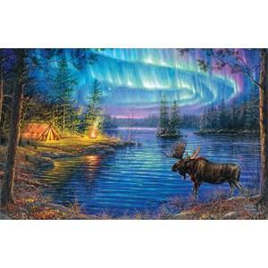 """SunsOut (69632) - Abraham Hunter: """"Northern Night"""" - 1000 piezas"""