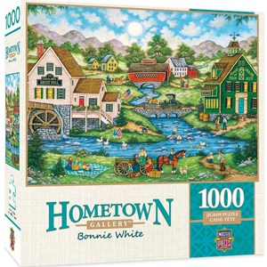 "MasterPieces (71732) - Bonnie White: ""Millside Picnic"" - 1000 piezas"