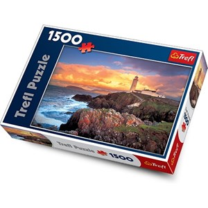 "Trefl (260533) - ""Fanad Head Lighthouse, Ireland"" - 1500 piezas"