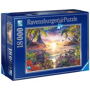 "Ravensburger (17824) - David Penfound: ""Paradise Sunset"" - 18000 piezas"