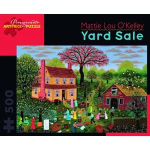 "Pomegranate (AA750) - Mattie Lou O'Kelley: ""Yard Sale"" - 500 piezas"