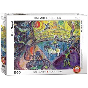 "Eurographics (6000-0851) - Marc Chagall: ""The Circus Horse"" - 1000 piezas"