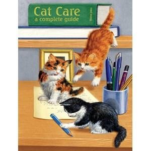 """SunsOut (51476) - Sarah Adams: """"Cat Care"""" - 500 piezas"""
