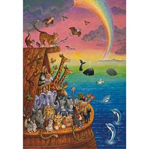 """Anatolian (PER3307) - Bill Bell: """"Noah and the Rainbow"""" - 260 piezas"""