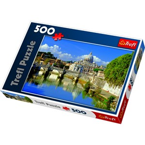 "Trefl (370874) - ""Vatican, Rome, Italy"" - 500 piezas"