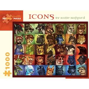 "Pomegranate (AA926) - Katie Hofgard: ""Icons"" - 1000 piezas"