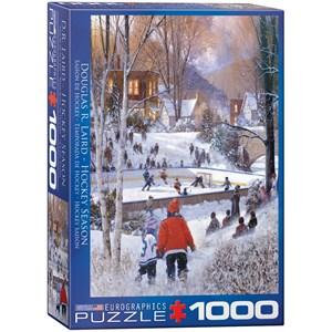 "Eurographics (6000-0688) - Douglas Laird: ""Hockey Season"" - 1000 piezas"