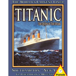 "Piatnik (538940) - ""Titanic"" - 1000 piezas"