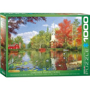 "Eurographics (6000-0696) - Dominic Davison: ""Lakeside Reflections"" - 1000 piezas"