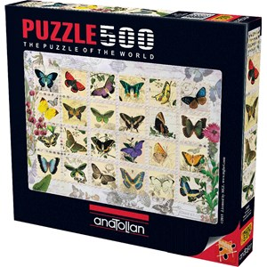 """Anatolian (PER3583) - """"Butterfly Stamps"""" - 500 piezas"""