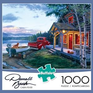 """Buffalo Games (11229) - Darrell Bush: """"Cabin Fever"""" - 1000 piezas"""
