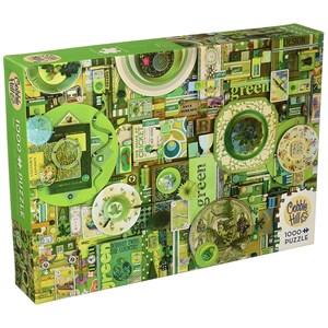 "Cobble Hill (51864) - Shelley Davies: ""Green"" - 1000 piezas"