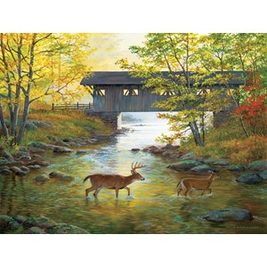 """SunsOut (51979) - Persis Clayton Weirs: """"Rock Creek Crossing"""" - 500 piezas"""