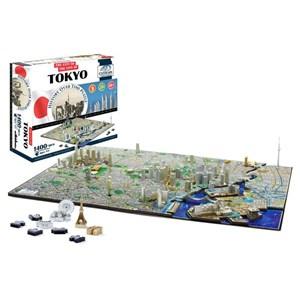 """4D Cityscape (40034) - """"Tokyo"""" - 1000 piezas"""