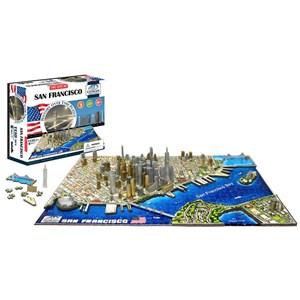 """4D Cityscape (40044) - """"San Francisco"""" - 1100 piezas"""