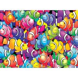 "Buffalo Games (11701) - Royce B. McClure: ""Clown School"" - 1000 piezas"