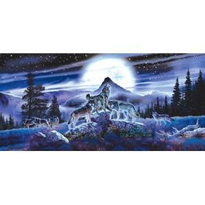 """SunsOut (34626) - Al Agnew: """"Night Wolves"""" - 1000 piezas"""